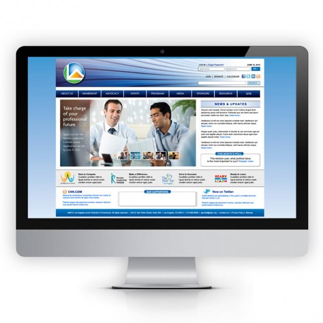 Los Angeles non-profit online branding